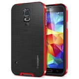 Spigen SGP Neo Hybrid case Galaxy S5 Red