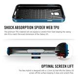 Spigen SGP Neo Hybrid case Galaxy S5 Zilver