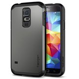 Spigen SGP Tough Armor case Galaxy S5 Gun Metal
