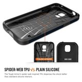 Spigen SGP Tough Armor case Galaxy S5 Metal Slate_9