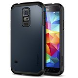 Spigen SGP Tough Armor case Galaxy S5 Metal Slate