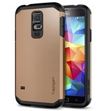 Spigen SGP Tough Armor case Galaxy S5 Copper Gold
