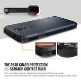 Spigen SGP Tough Armor case Galaxy S5 Zwart