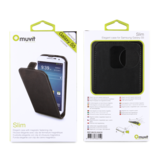 Muvit Slim Flipcase Samsung Galaxy S5 Black_9