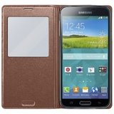 Samsung Galaxy S5 S-View Flip Cover Goud
