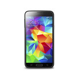 Puro Clear Cover Galaxy S5 Zwart