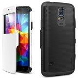 Spigen SGP Slim Armor View case Galaxy S5 White