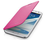 Samsung Galaxy Note 2 Flip Cover case Pink_9