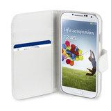 Xqisit Wallet case Galaxy S4 White 1