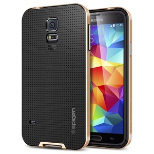 Spigen SGP Neo Hybrid case Galaxy S5 Copper Gold