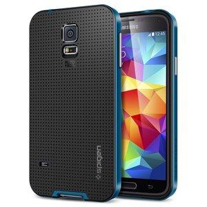 Spigen SGP Neo Hybrid case Galaxy S5 Eletric Blue