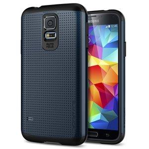 Spigen SGP Slim Armor case Galaxy S5 Metal Slate