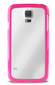 Puro Clear Cover Galaxy S5 Pink