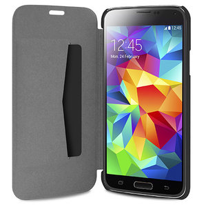 Puro Booklet Folio Samsung Galaxy S5 Black