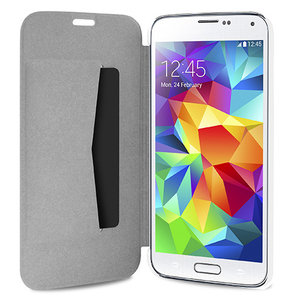 Puro Booklet Folio Samsung Galaxy S5 White
