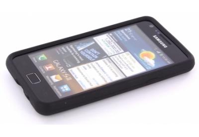 Mobiparts Siliconen case Samsung Galaxy S2 Black