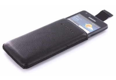 MobiParts Luxury Pouch Samsung Galaxy S2 Black