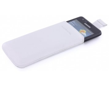 MobiParts Luxury Pouch Samsung Galaxy S2 White