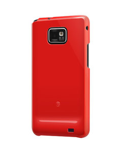 SwitchEasy Nude Samsung Galaxy S2 Red