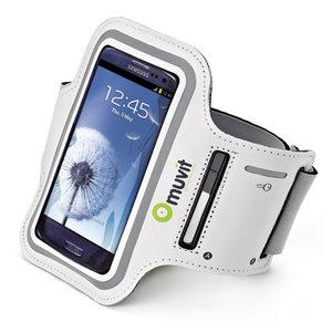 Muvit Sport armband Samsung Galaxy White