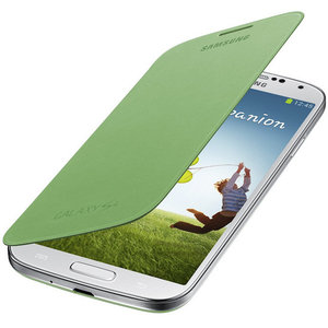 Samsung Galaxy S4 Flipcover Green