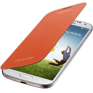 Samsung Galaxy S4 Flip Cover Orange