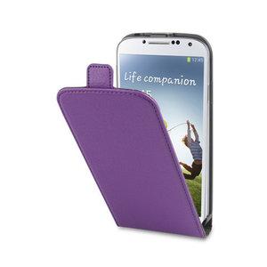 Xqisit Flipcover Samsung Galaxy S4 Purple 1
