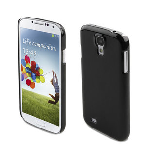 Xqisit iPlate Glossy case Samsung Galaxy S4 Black