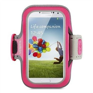 Belkin SlimFit Sportband Samsung Galaxy S4 Pink