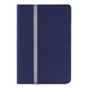 Belkin Cinema Leather Folio Stripe Galaxy Tab 3 10.1 Blue