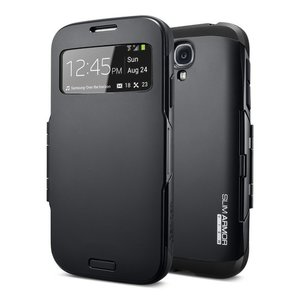 Spigen SGP Slim Armor View case Galaxy S4 Black